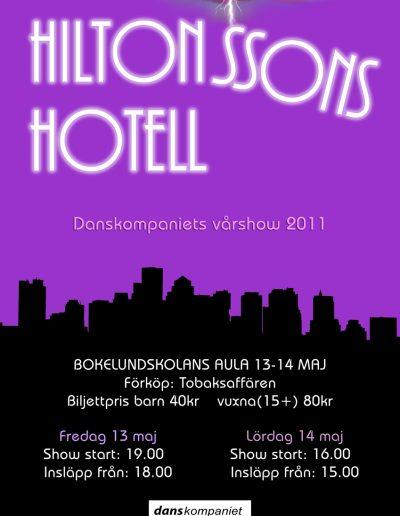 Danskompaniet-VT2011-HiltonssonsHotell-A3